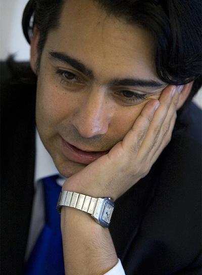 El precandidato chileno Marco Enríquez-Ominami.