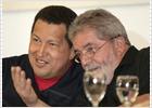 Chávez pide ayuda a Lula ante la crisis