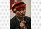 Nicaragua otorga asilo político al líder indígena peruano Alberto Pizango