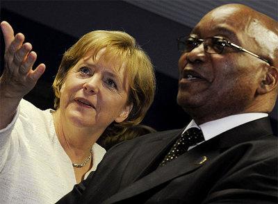 FOTOGALERIA: Merkey y Zuma juntos