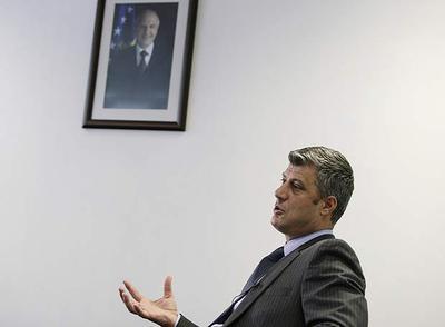 El primer ministro de Kosovo, Hashim Thaçi