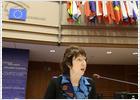 Ashton pasa su primera prueba ante el Parlamento Europeo