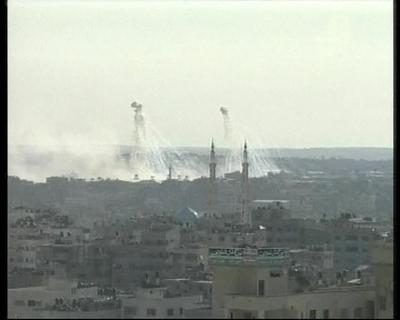 Israel admite que disparó fósforo blanco contra zonas pobladas en Gaza
