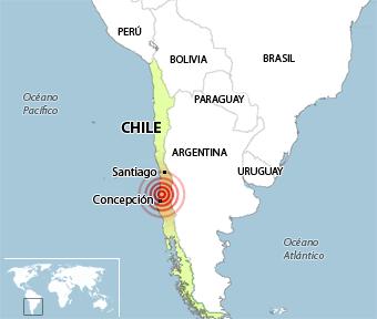 El fuerte terremoto de Chile causa al menos 300 muertos