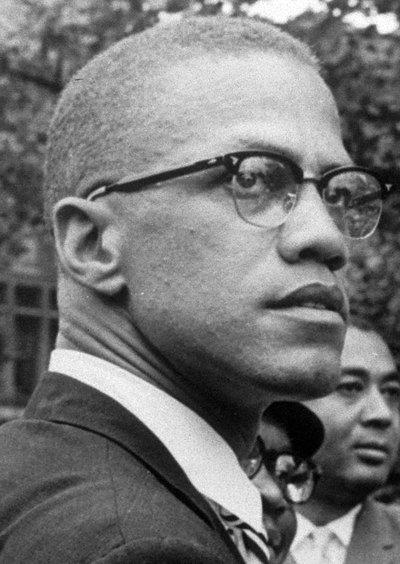 Foto de archivo de Malcolm X, el líder de los derechos civiles de los afroamericanos en Estados Unidos