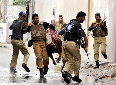 FOTOGALERIA: Tiroteo en Lahore