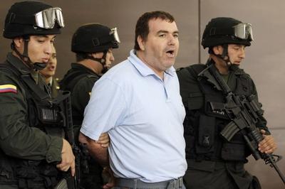 El narcotraficante venezolano Walid Makled, detenido por la policía Colombiana en la ciudad de Cúcuta.