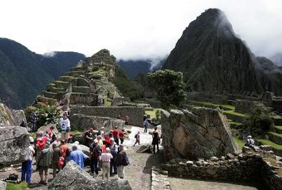 Imagen de Machu Picchu , en Perú.