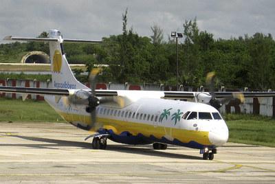 Modelo del avión siniestrado en Cuba con 68 personas a bordo, un  ATR-72-212.