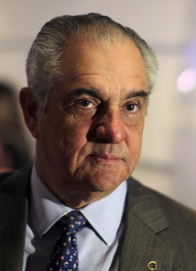 El presidente de la cadena venezolana Globovisión, Guillermo Zuloaga.
