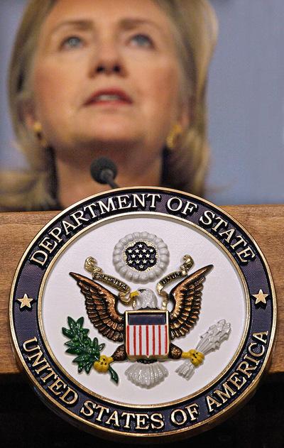 La secretaria de Estado de EE UU, Hillary Clinton, en una imagen de archivo.