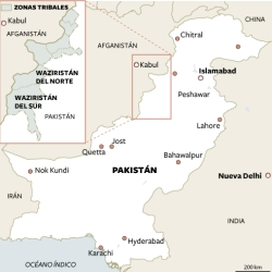 Pakistán presta apoyo encubierto a grupos terroristas