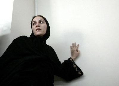 Shahla Jahed asiste a una sesión en el tribunal en esta foto de junio de 2010