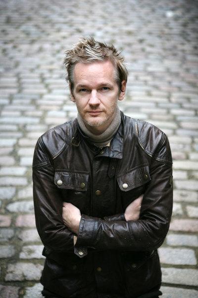 Foto de Julian Assange tomada en Londres en octubre de 2010