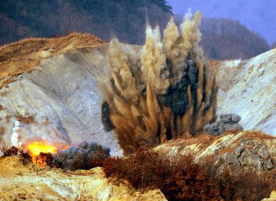 FOTOGALERIA: Explosión
