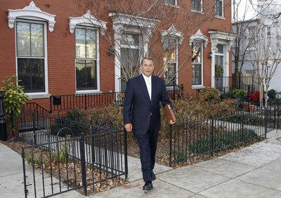 El nuevo portavoz de la Cámara de Representantes, John Boehner
