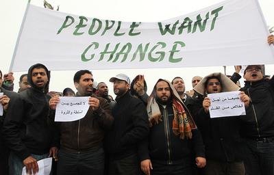 FOTOGALERIA: 'La gente quiere el cambio', lema de los manifestantes