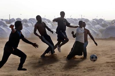 FOTOGALERIA: La vida en el campo de refugiados