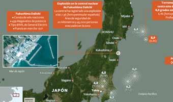 Fukushima vive el peor accidente nuclear desde Chernóbil