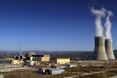 Fotografía de archivo de la central nuclear Trillo I, en Castilla-La Mancha.