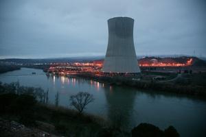 Una imagen de archivo de la central nuclear de Ascó ( I y II).