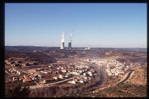 Una imagen de archivo de la planta nuclear de Trillo.
