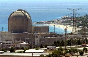 Una imagen de archivo de la planta nuclear de Valldellós (I y II) en Tarragona.