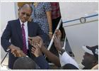 El expresidente Aristide regresa a Haití dos días antes de la segunda vuelta de las presidenciales