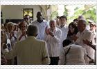 Carter se entrevista con Raúl Castro y con representantes de la disidencia