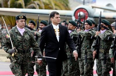 El presidente ecuatoriano, Rafael Correa, en una fotografía de archivo en Quito.