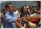 Los primeros sondeos dan ventaja a Humala en las elecciones de Perú