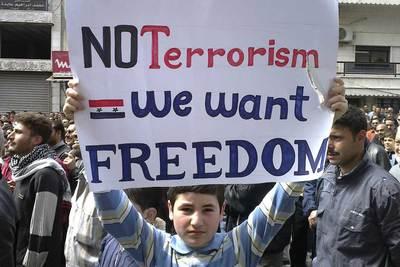 Resultado de imagen de protestas siria 2011