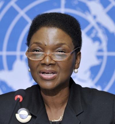 La secretaria general adjunta de la ONU para Asuntos Humanitarios, Valerie Amos, en una foto de archivo.