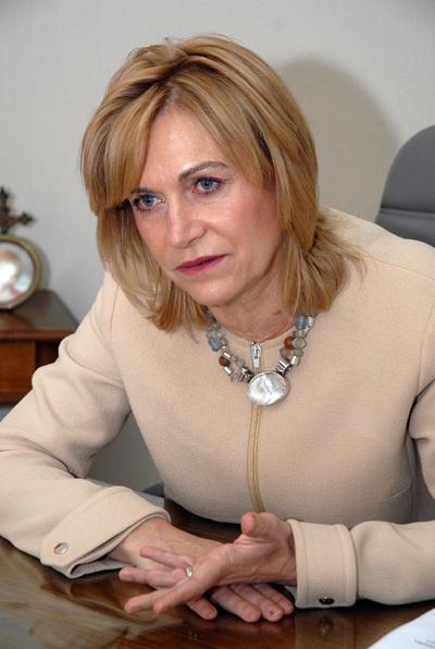 La ministra de Trabajo de Chile, Evelyn Matthei