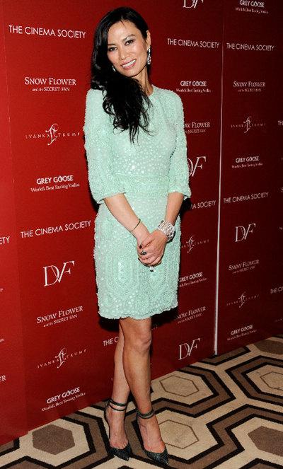 Wendi Murdoch, esposa del magnate de la comunicación Rupert Murdoch, en una reciente aparición pública en Nueva York.