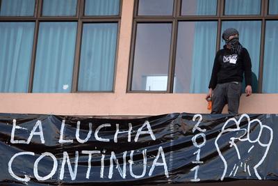 Los estudiantes chilenos protestan contra el actual sistema educativo y piden reformas