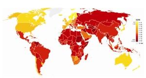 Índice de Percepción de la Corrupción 2011.