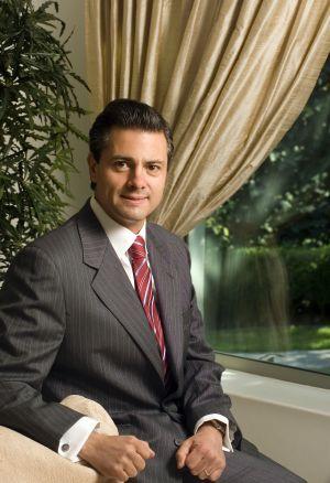 El candidato del PRI a la presidencia, Enrique Peña Nieto.