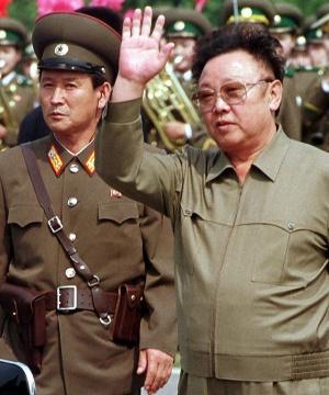 Imagen de Kim Jong-il tomada en junio del año 2000.