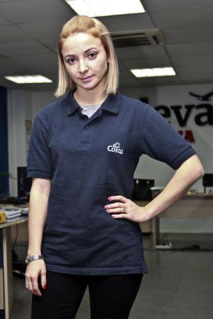 Domnica Cemortan, de 25 años, la joven moldava que acompañaba al capitán la noche del suceso.