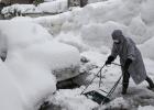 El temporal de nieve, en fotos