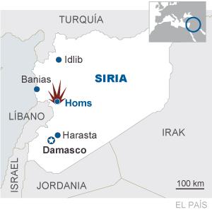 Siria se instala en la guerra civil tras la matanza de Homs