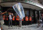 24 heridos en la represión de una protesta ecologista en Argentina