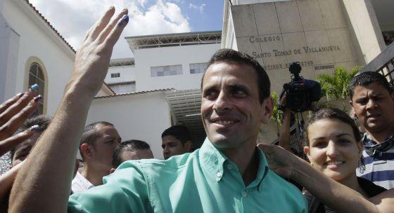 Henrique Capriles, político venezolano.