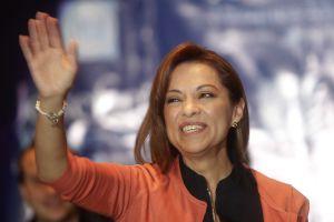 La candidata del PAN, Josefina Vázquez Mota.