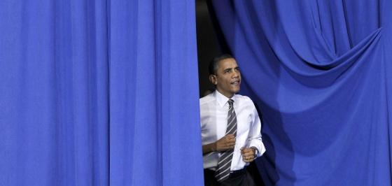 Obama, el pasado jueves en Largo (Maryland).