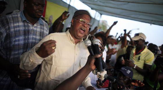 El primer ministro de Guinea Bissau, el pasado 16 de marzo.
