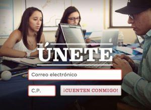 Portada de la página en español de la campaña de reelección del presidente Obama.