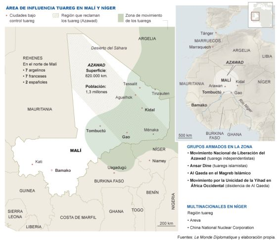 Mali, tuaregs, Azawad. Islamistas, tropas gubernamentales, intereses imperialista$. 1337366258_482180_1337367788_sumario_normal