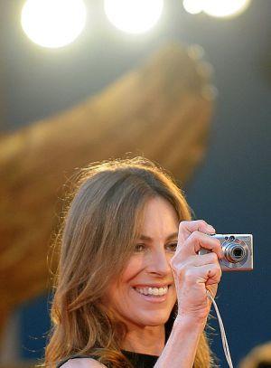 La directora Kathryn Bigelow en los Oscar de 2008.